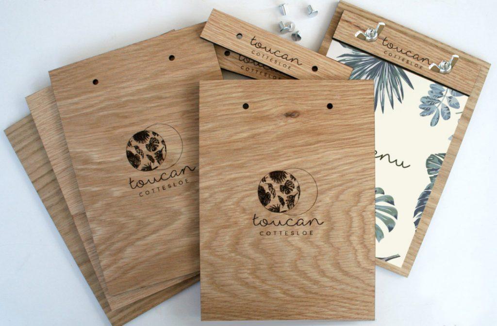 Menu gỗ với những đặc điểm sang trọng